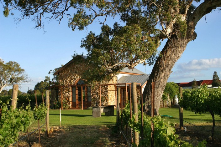 Highbank Cottage from the Vineyards
